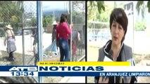 Vecinos de Cochabamba realizaron campaña de limpieza en parques y plazas