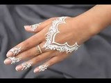 collage girl hinna.EID _White Henna_ Design (for Beginners) by ShahemaLookok - Eid Makeup Ideas - How to look beautiful on this Eid -