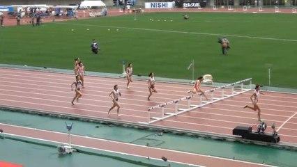 2015日本選手権 女子400mH予選~決勝