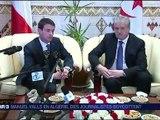 la visite de Manuel Valls sur fond de polémique en Algérie - vidéo Dailymotion