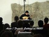 Anon / Francis Cutting: Greesleeves - Istvan Konya, renaissance lute