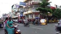 Circulation à Pondichery, Inde