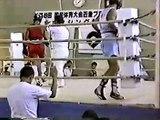 1993年 国体近畿大会 準決勝
