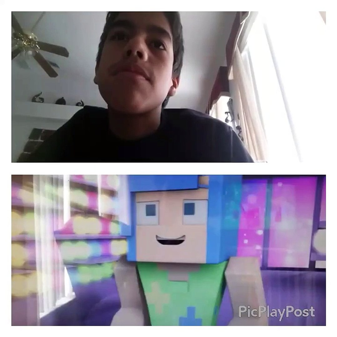 Minute minecraft parodies inside out REACTION