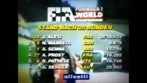 Formula 1 1991 German Grand Prix - Ayrton Senna vs Alain Prost vs Ricardo Patrese
