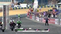 24 Heures Motos 2016 - Les meilleurs moments de l'arrivée