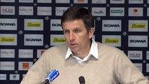 Angers 0-0 Gazélec Ajaccio : les réactions de S. Moulin et T. Laurey