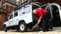 Land Rover Defender 110 on the The Land Rover Go Beyond Bursary