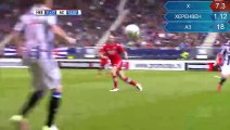 Goal Joey Van den Berg -SC Heerenveen 2-0 AZ Alkmaar 10.04.2016