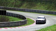 2016 Jaguar F-Pace Spied Testing on the Nurburgring