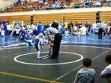 Beau's First Wrestling Match 2009 026