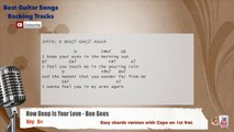 How Deep Is Your Love - Bee Gees Vocal Backing Track with chords and lyrics