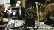 102.9 The Buzz: National Chicken Wing Day with Hooters