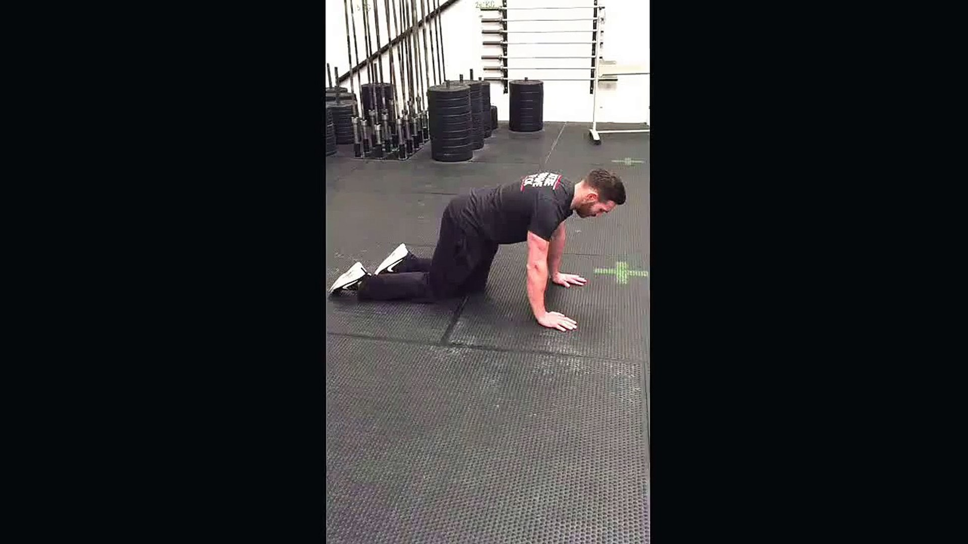 Clean Eating Challenge - Push ups (Slow eccentric, to knees, to plank )