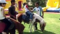Pony back riding @ Bahrain Horse Club