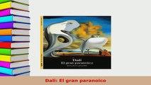 PDF  Dali El gran paranoico PDF Online