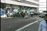September 11th 2001 Someone's Dead. hit by falling Object  CBS-Net Dub2 19