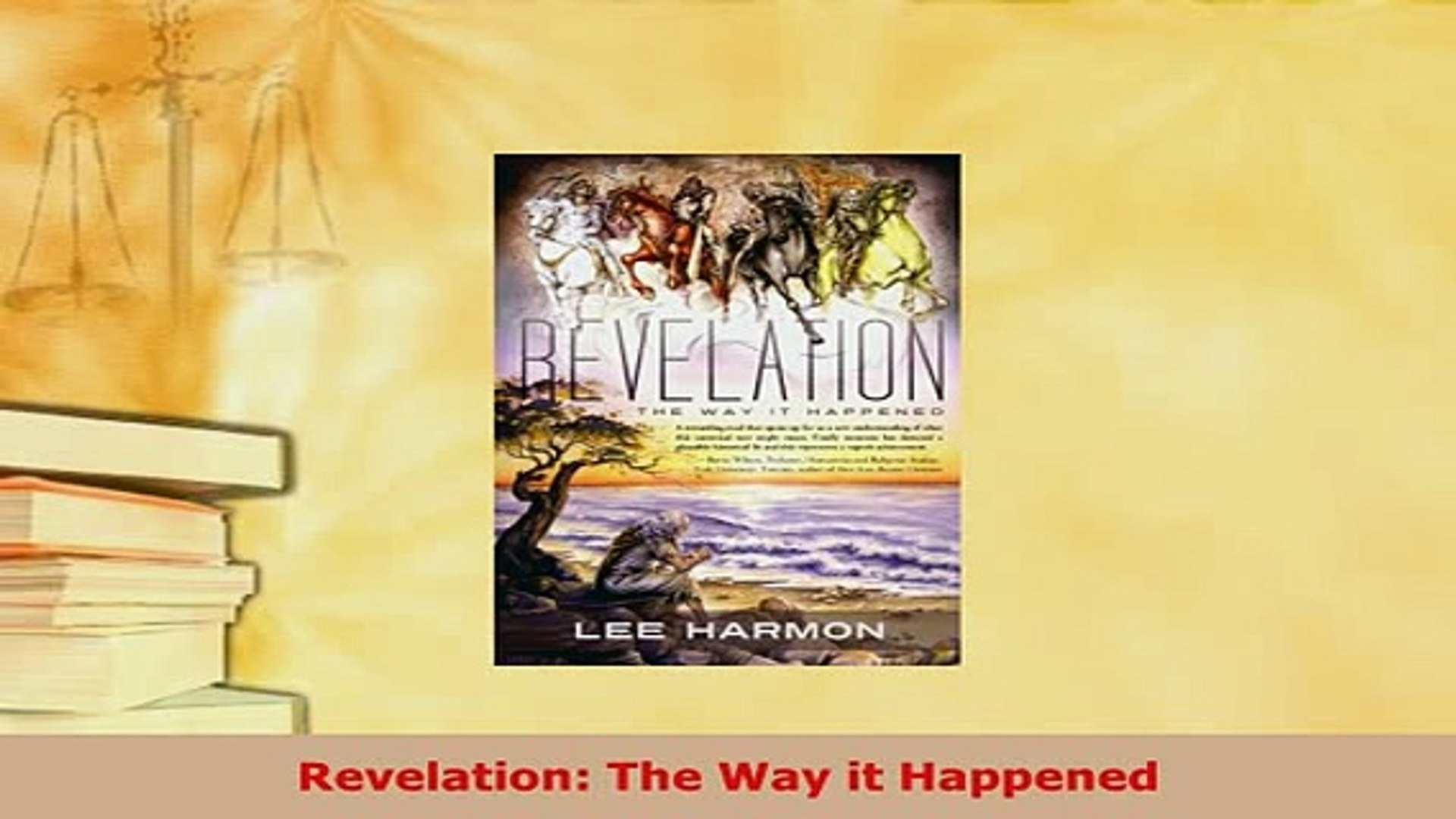 Revelation: The Way it Happened