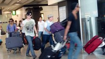 Adam Lambert arrived at Hong Kong Int'l Airport