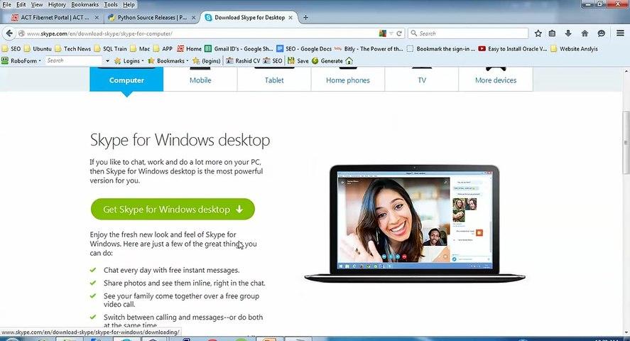 How to Install Skype 4 3 in Ubuntu Desktop 15 10, Debian 8 & Linux Mint 17 2