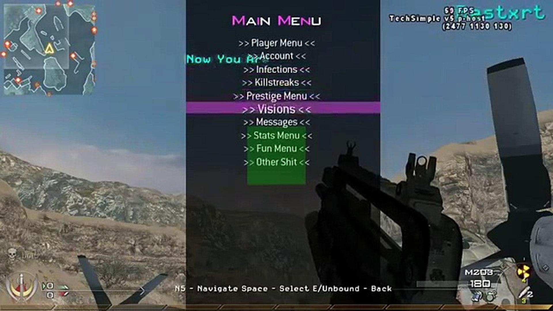 Mw3 Mod Menu Pc Steam 2019
