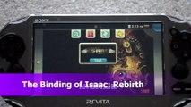 Review The Binding of Isaac Rebirth Sony Playstation Vita PSV PSN Free Nicalis Plus