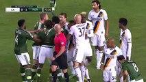 LA Galaxy vs. Portland Timbers 1-1  10/04/16 MLS Highlights