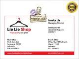 Jual Kaos Distro Online Murah Berkualitas di Lie Lie Shop