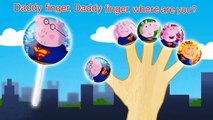 Peppa Pig Lollipop Superman  Finger Family \ Nursery Rhymes \ Mickey Mouse TV Lyrics