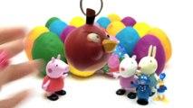 Play Doh Eggs Peppa Pig Toys Peppa Pig Surprise Eggs Peppa Pig and Friends Surprise Eggs Part 2