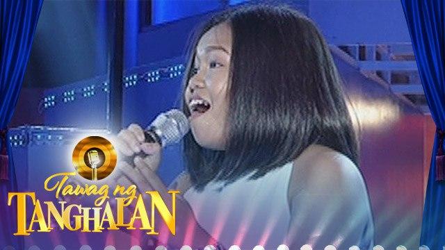 """Tawag ng Tanghalan: Wennie Dagatan - """"Bakit"""""""