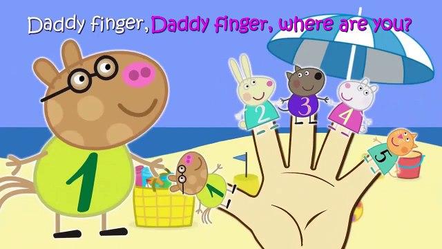 Peppa Pig 12345 Finger Family \ Nursery Rhymes \ Mickey Mouse TV Lyrics