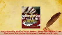 Download  Catching the Wolf of Wall Street More Incredible True Stories of Fortunes Schemes Parties Free Books