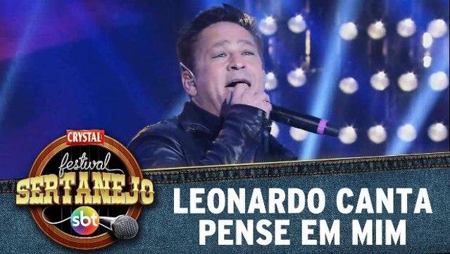 Leonardo canta Pense em mim