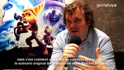 Interview sur Ratchet & Clank (PS4) avec James Stevenson