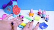 Peppa Pig Play Doh Fun Factory Machine Peppa's Dough Set Hasbro Toys Juguetes de Plastilina Part 3