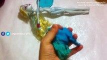 Play Doh Monster High Dresses Up Design ❤ Lagoona Blue Doll #4 [Oyun Hamuru Kıyafet Tasarımı]