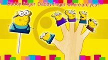 Minions Peppa Pig Lollipop Finger Family Nursery Rhymes\Mickey Mouse TV Lyrics