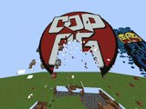 Minecraft blowing stuff with tnt