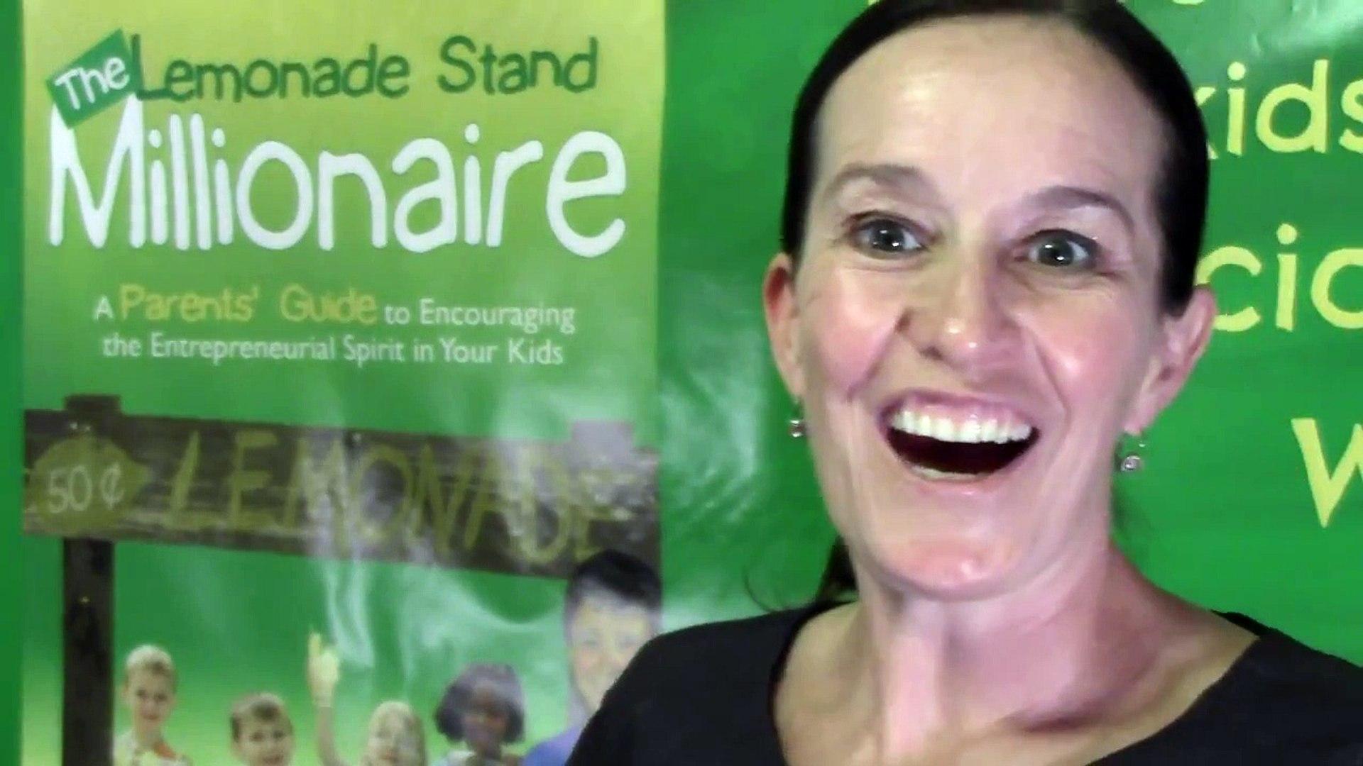 Money Tips for Kids, Education Jar The Lemonade Stand Millionaire