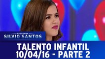 Talento Infantil com Lari Manoela, Maisa Silvia e Jean Paulo - Parte 2