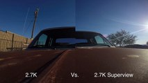 """GoPro HERO4 Superview, and Res Comparison In 4K """"GoPro Tips & Tricks"""""""