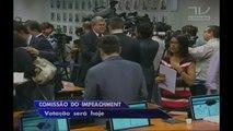 Comissão vota nesta segunda relatório que pede o impeachment da presidente Dilma