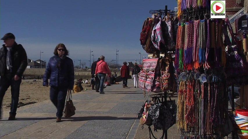 Elle est grande la plage de Quiberon - BRETAGNE Télé