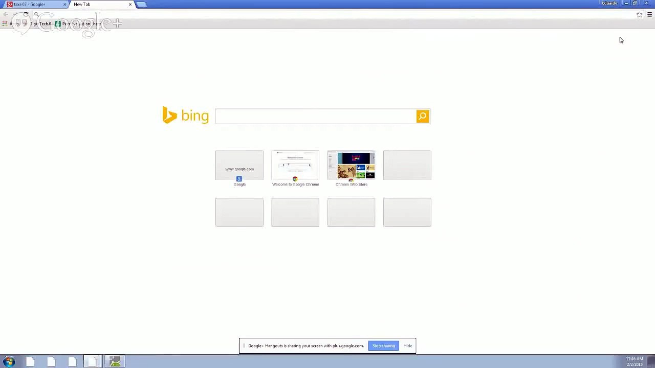 Change Your Default Search Browser - Google Chrome