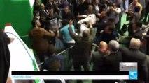 Grosse bagarre lors d'un congrès du FLN à Alger entre journalistes et membres de sécurité - ALGÉRIE