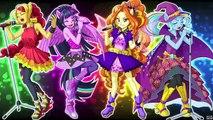 MLP: Equestria girls Rainbow Rocks Battle of the bands nightcore