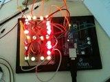 Arduino: seven-segment display using LEDs