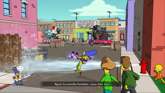 Les Simpsons Le jeu FR Episode 3 - Il faut détruire Grand theft Scratchy | Lets play Francais HD