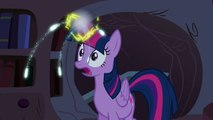 Twilight Sparkle - Twilight Sparkle lowers the moon and raises the sun (full scene)